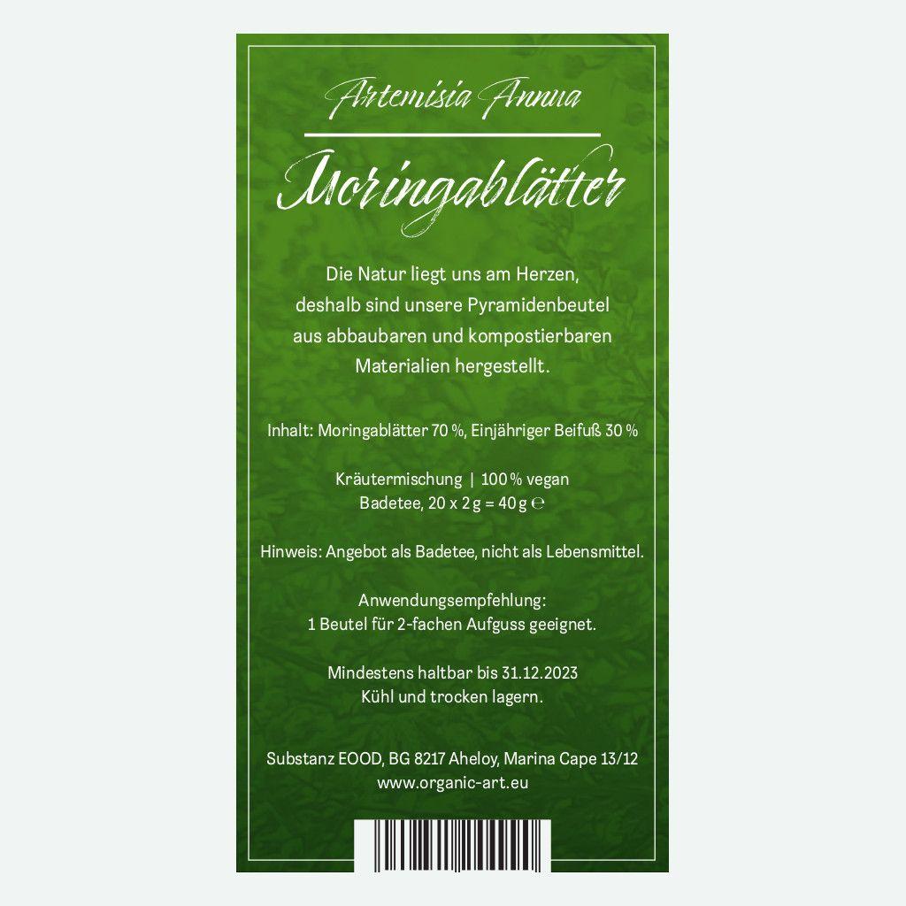 Artemisia Annua mit Moringa zum Aufgießen 40g