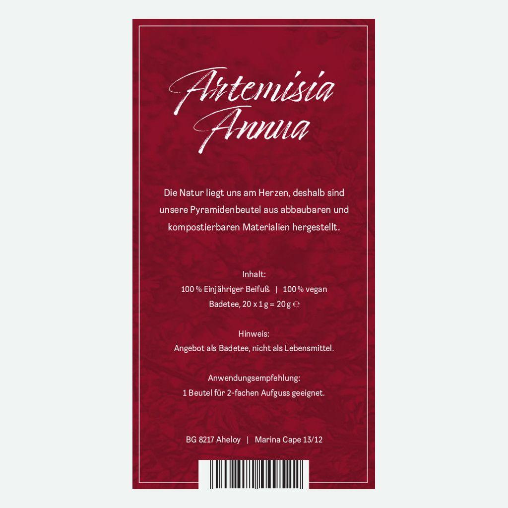Artemisia Annua zum Aufgießen 20g & Buch: Artemisia Annua - Heilpflanze der Götter